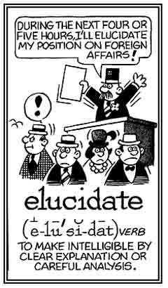 Elucidating explanation definitions